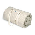 "Cotton Yoga Mat Linen 70""Lx25""Wx3""H (118 0015)"