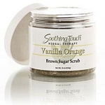 S.T. Brown Sugar Scrub- Vanilla Orange 16 oz. (209