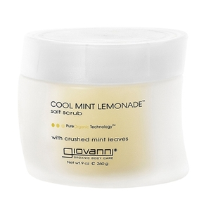 Giovanni Cool Mint Lemonade Salt Scrub 9 oz. (209