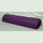 Cover Flannel 12 Round Jumbo Bolster 9x29 (220 08