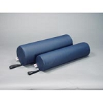 "Core Round Bolster Blue 8""X24"" (220 0866)"