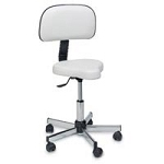 Pibbs Anti Fatigue Stool - White (220 1034)
