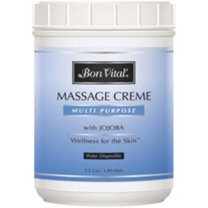 Bon Vital Multi Purpose Massage Creme 12 Gallon (