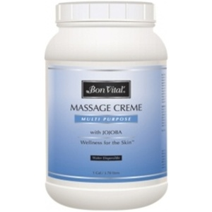 Bon Vital Multi Purpose Massage Creme 1 Gallon (