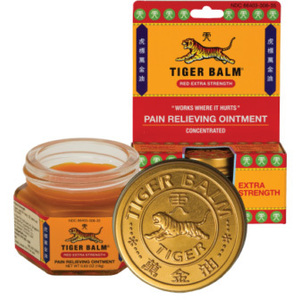 Tiger Balm Extra Strength Red .63 oz. (228 0006)