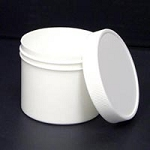 Plastic Jar With Lid 4 oz. (244 0002)