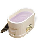 Therabath Pro Paraffin Bath Kit with Peach-e Paraf