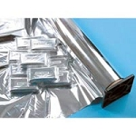 "Thermal Mylar Foil Single Sheet 52""X84"" 3 Count ("