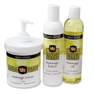 Lotus Touch Organic Naturals Massage Kit (278 0079