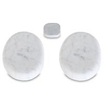 Marble Stones Face & 3rd Eye Set Of 3 (281 0012)