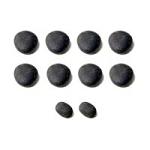 Stones Small Set Of 10 (FingerToe) Basalt (281 0