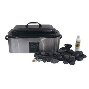Signature Hot Stone Set With Chakra Stones (281 0198)