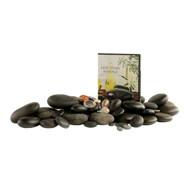 Deluxe Hot Stone Set With Chakra (281 0027)