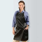 Stylist's Satin Apron Black (350 0006)