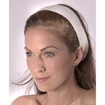 Disposable Polyester Headband White 48 Pack (353 0