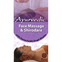 Ayurvedic Face Massage And Shirodara DVD (549 0092