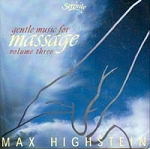 Gentle Music For Massage Highstein Vol 3 CD (558 0