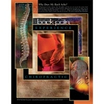 "Lower Back Pain Poster 22""X28"" Laminated (573 0415"