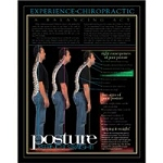 Poster Non Laminated 22x28 Posture (Keeping It Str