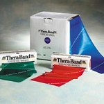Thera-Band Latex Free 6' Band 20391 Light Pack (65