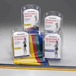 Thera-Band Resistance Tubing 5' Kit Light (651 002
