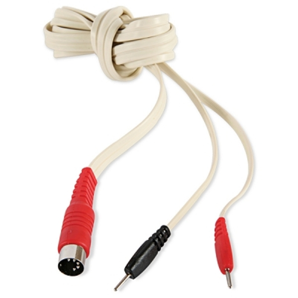 "Straight 5 Pin Din 72"" Cord .080 Pins Red (671 012"
