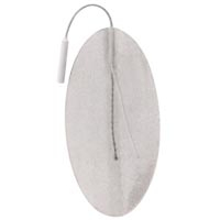 "Superior Silver Electrodes Oval 2"" X 4"" 4Package"