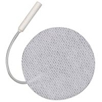"First Choice Cloth Electrodes Pigtail 2""Rnd (672 0"