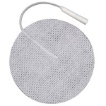 "First Choice Cloth Electrodes Pigtail 2.75"" Round"