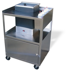 Service Center Cart with Cabinet (675 0014)