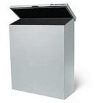 "X-Ray Film Storage Bin 14""X17"" Gray Unlined (693 0"