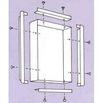 Recess Kit For 29602 14'x17' 2 Bank Viewbox (693