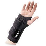 Heavy Duty Double Wrap Wrist Support Black Large (