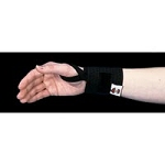Universal Elastic Wrist Band with Thumb Loop Black
