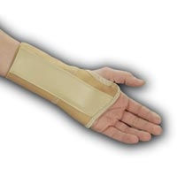 Elastic Wrist Brace with Metal Stay Small Left (70