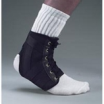 Lightweight Elastic Ankle Brace Large (708 0018)