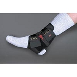 Power Wrap Ankle Brace Black X-Large (708 0038)