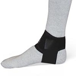 Plantar Fasciitis Day Splint Black Large Left (708