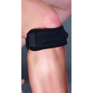 Patella Strap Universal Fit Black (710 0001)