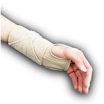 Ambidextrous Cock-up Wrist Splint X-Large Beige (7