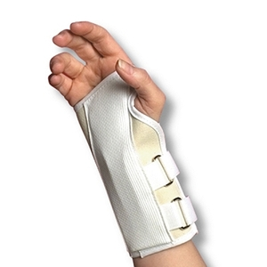 "6"" Canvas Cock-up Wrist Splint Right Small (718 00"