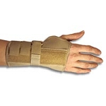 Carpal Tunnel Cockup Brace with Dorsal Stay Large