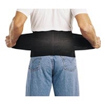 "Work S'port Industrial Belt Small 24"" - 29"" Black"
