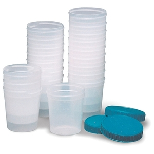 Specimen Cups With Lids 4 Oz 20Package (745 0006