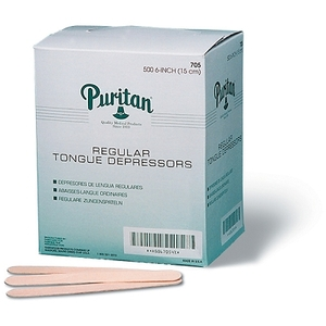 "Tongue Depressors Junior 5.5"" 500Box (764 0022)"