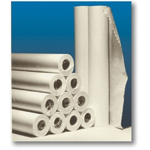 "Crepe Exam Table Paper 18""W X 125' 12 Rolls Whi"