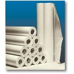 "Crepe Exam Table Paper 21""W 125' 12 Rolls White"