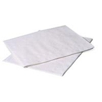 "Tidi Draping Sheet 100Case 2 Ply White 40""X48"""