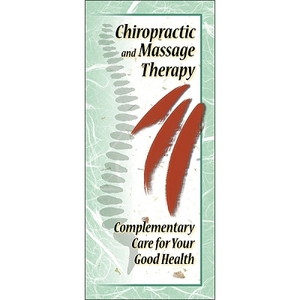 Chiropractic & Massage Brochure 25 Pack (795 0099)