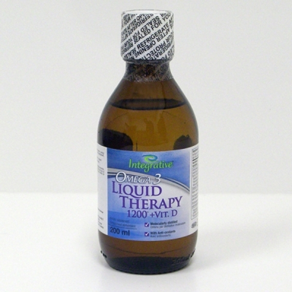 Omega3 Liquid Therapy 1200 +D - 200 mL (827 0096)